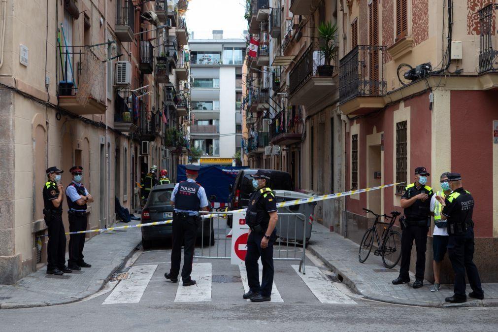 Três paquistaneses morrem em incêndio numa cave em Barcelona
