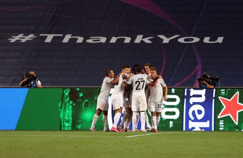 Bayern Munique goleia FC Barcelona e assegura meias-finais da Liga dos Campeões