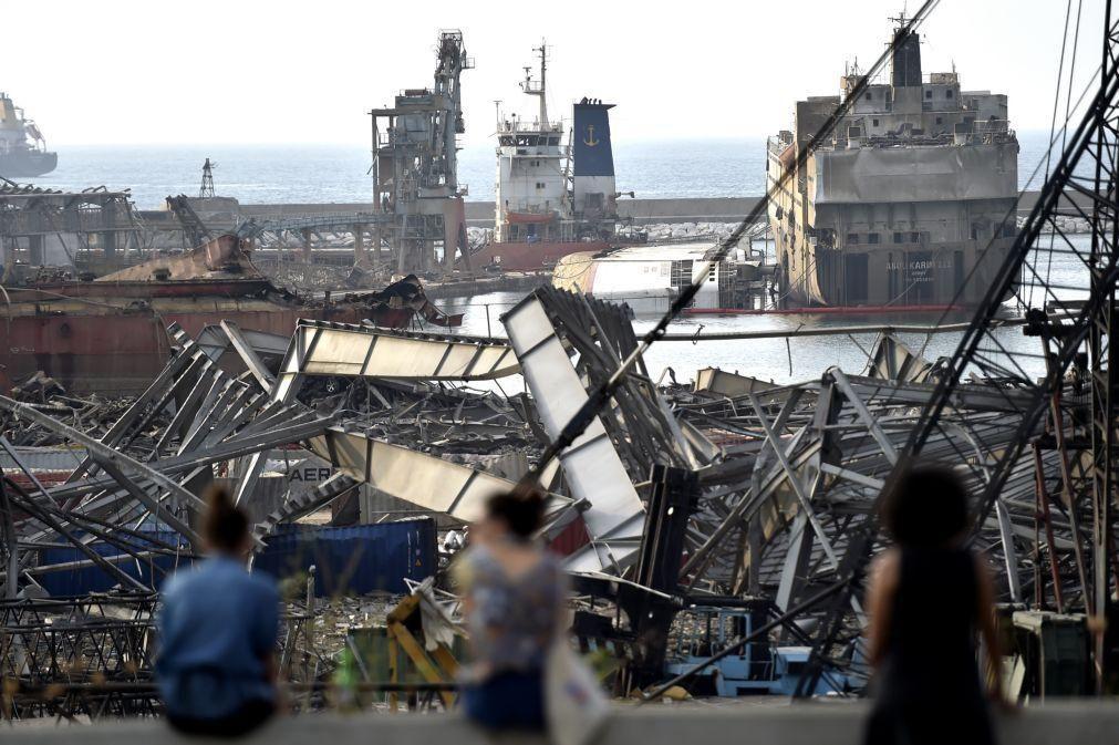 Beirute/Explosões: ONU pede 565 milhões de dólares à comunidade internacional