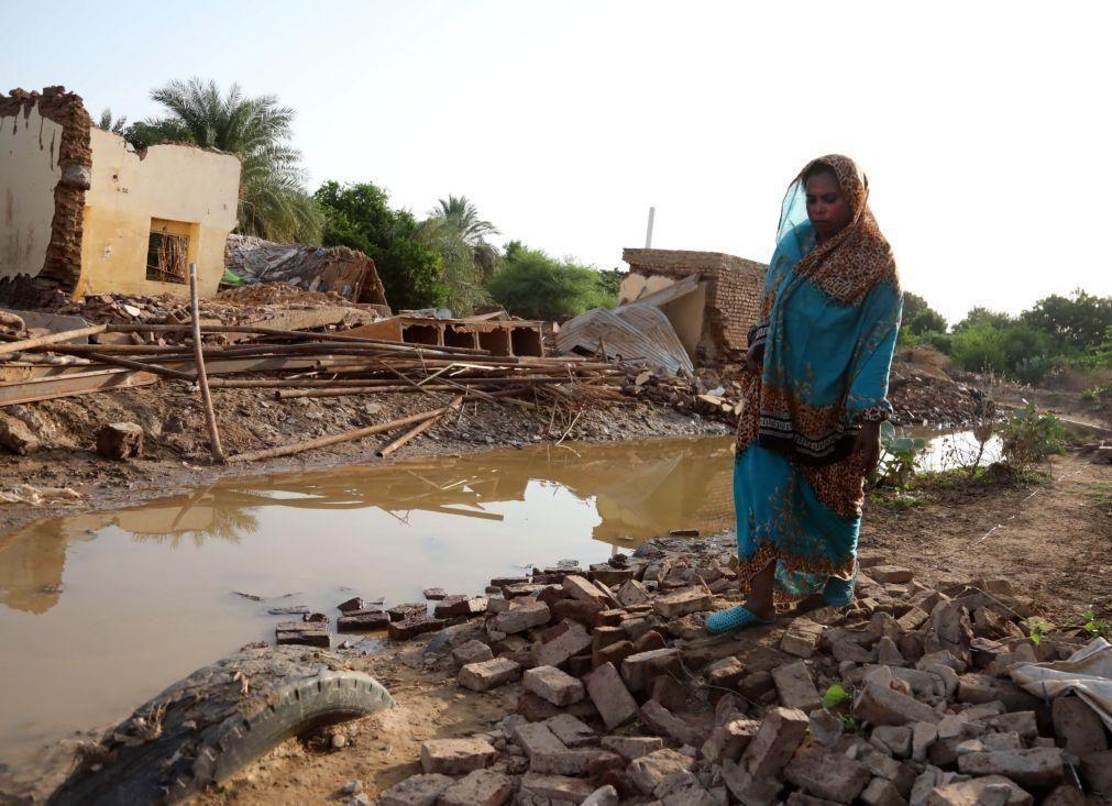 Mais de 60 mortos e 13 mil casas destruídas no Sudão devido a chuvas desde julho