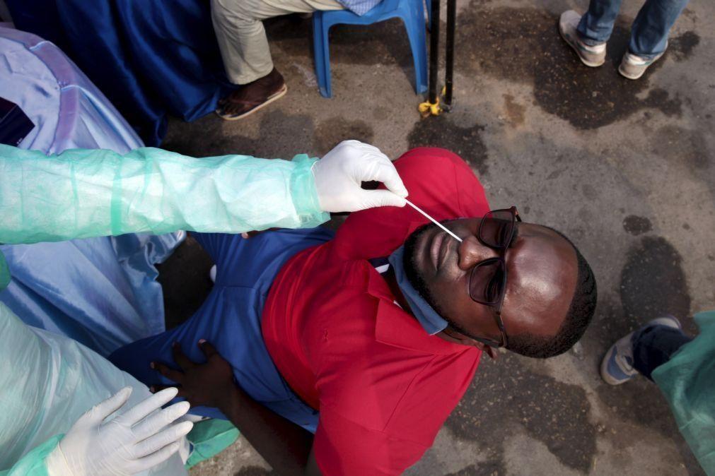 Covid-19: Angola com 27 novos casos e 44 doentes recuperados