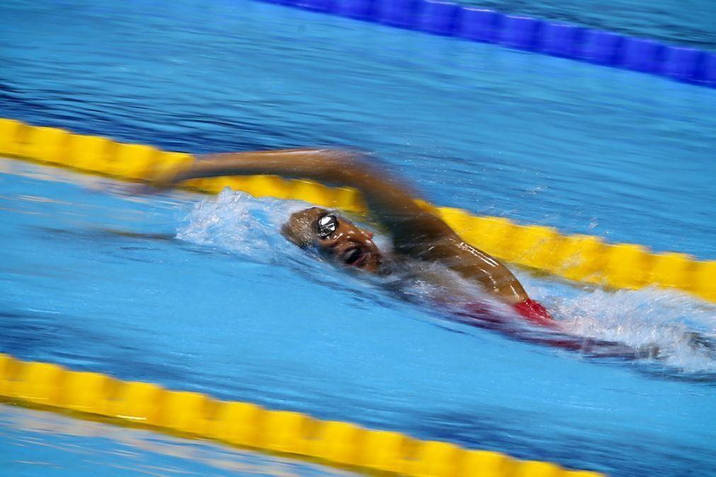 Novo recorde nacional na estafeta feminina 4x100 metros no Open de Loulé de natação