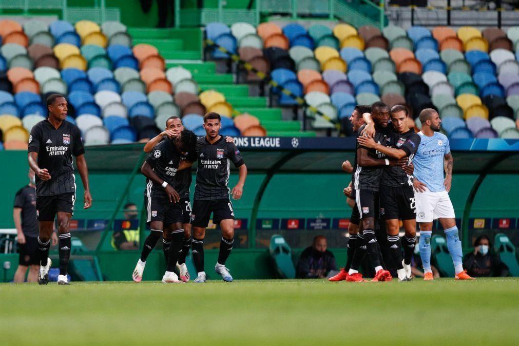 Lyon bate Manchester City e qualifica-se para as meias-finais da Liga dos Campeões