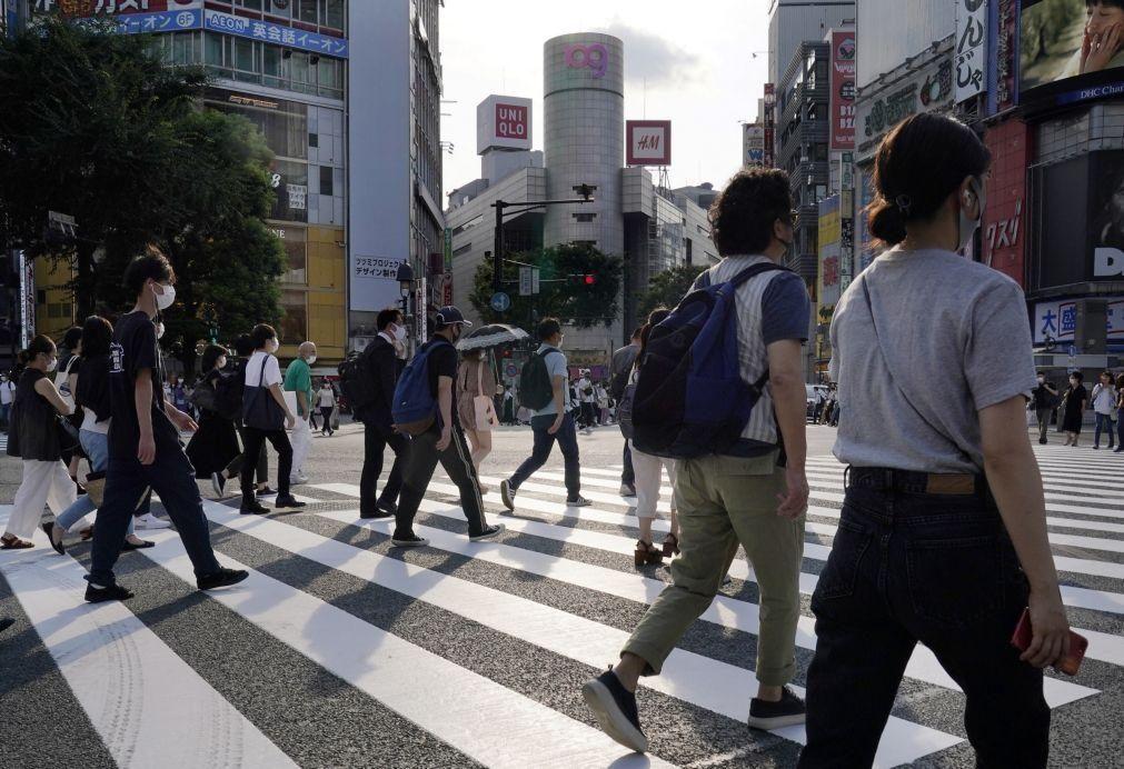 Covid-19: Economia no Japão cai 27,8% no 2.º trimestre, a maior queda de sempre