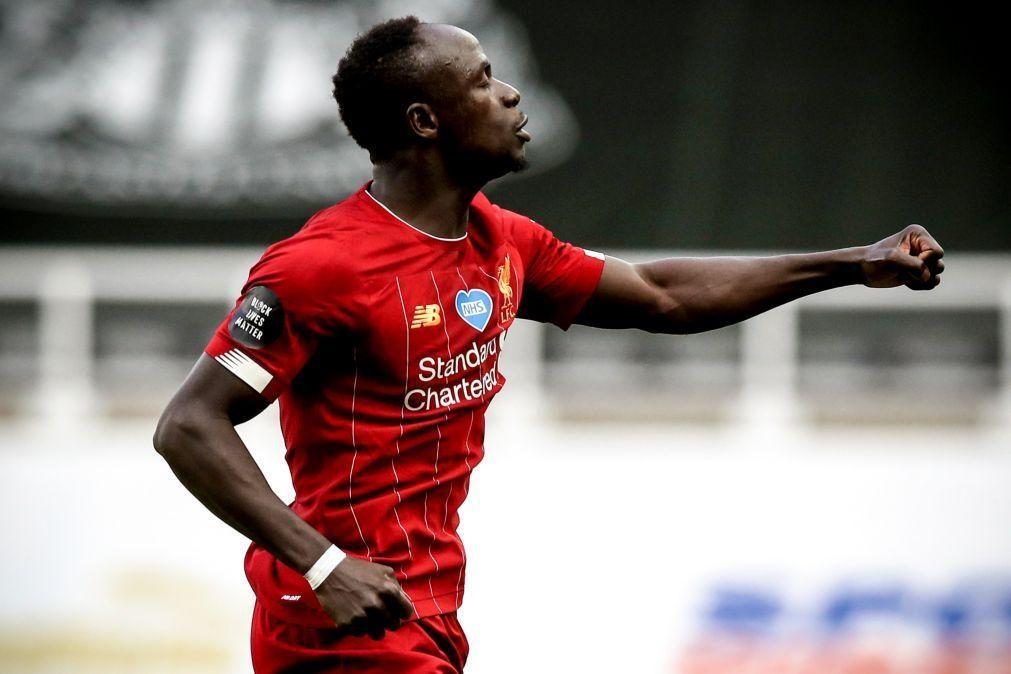 Sadio Mané eleito melhor jogador da Premier League pelo adeptos