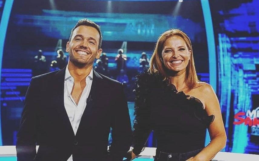 Cristina Ferreira Ao lado de Pedro Teixeira, anuncia regresso de Apanha Se Puderes