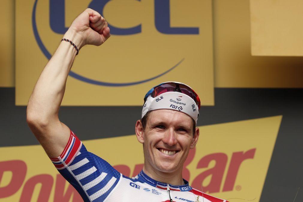 Arnaud Démare vence segunda etapa da Volta à Valónia ao 'sprint'
