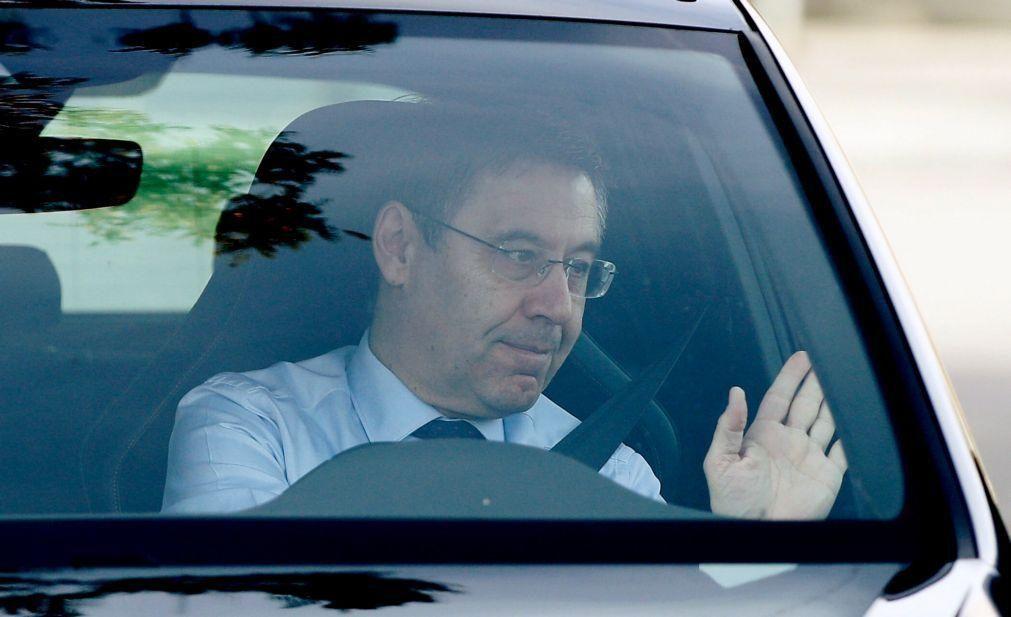 Josep Maria Bartomeu não se demite e convoca eleições no FC Barcelona para março