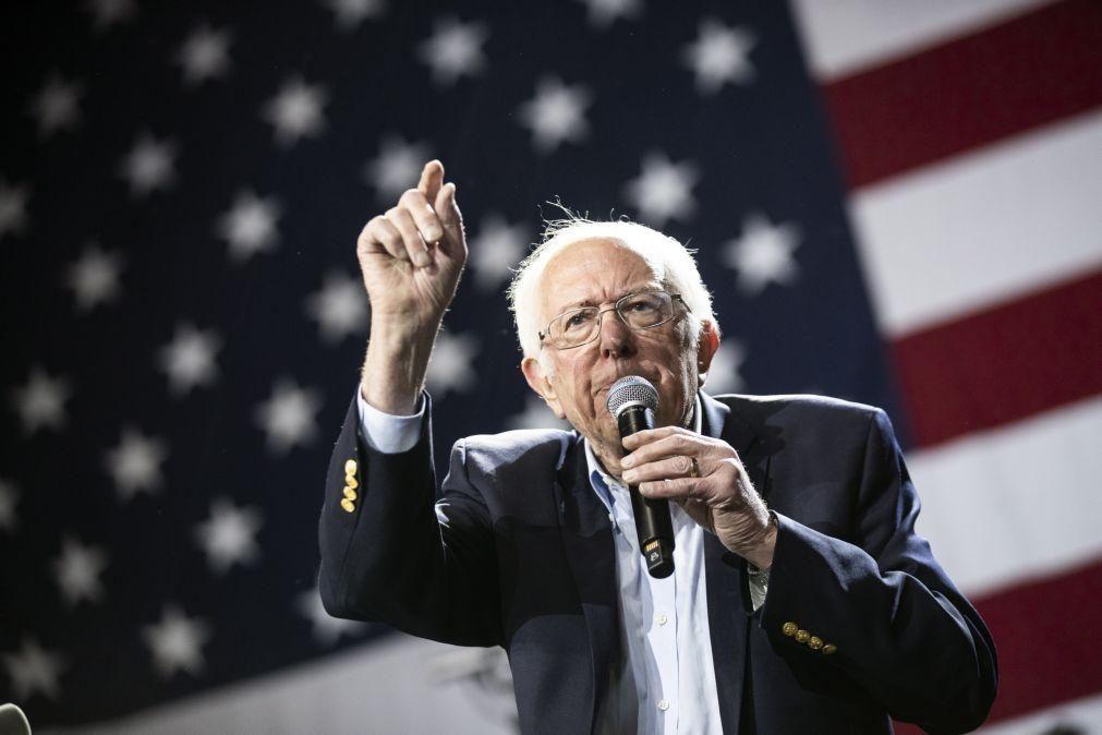 EUA/Eleições: Sanders diz que autoritarismo criou raízes com presidência de Trump