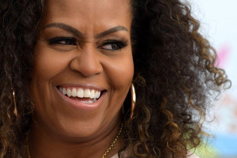 Michelle Obama apela ao voto em Biden