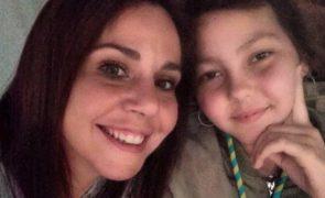 Sara Norte As primeiras palavras da atriz sobre a morte da irmã de 14 anos