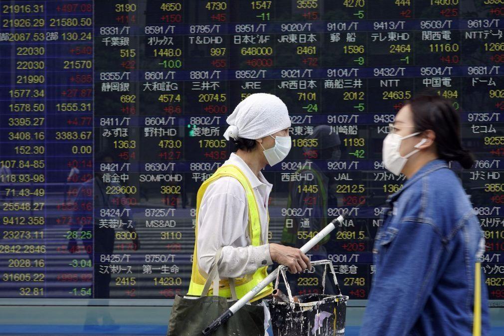 Bolsa de Tóquio fecha a ganhar 0,26%