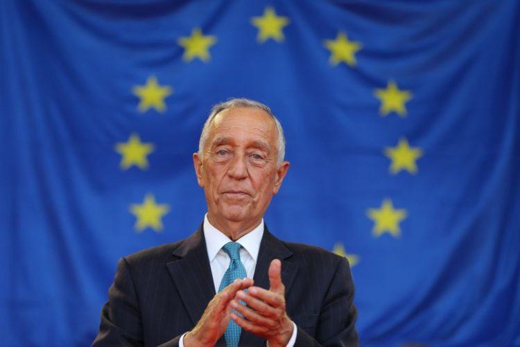 Presidente com os reis de Espanha na inauguração da Feira do Livro de Madrid dedicada a Portugal