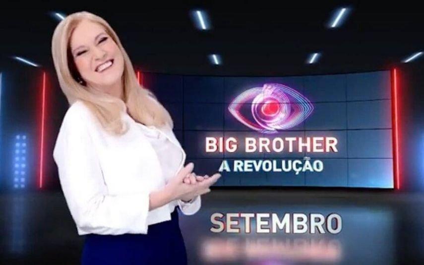 As primeiras imagens de Teresa Guilherme no Big Brother - A Revolução