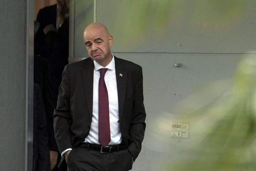 Comité de Ética da FIFA encerra investigação ao presidente Gianni Infantino
