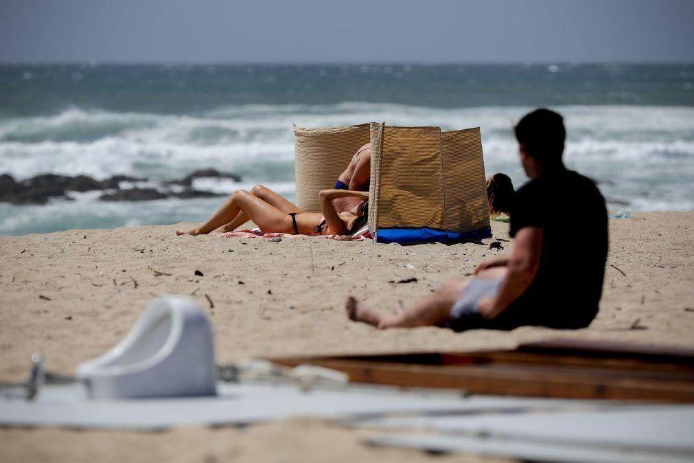 Praias urbanas da Póvoa de Varzim interditadas a banhos até segunda-feira