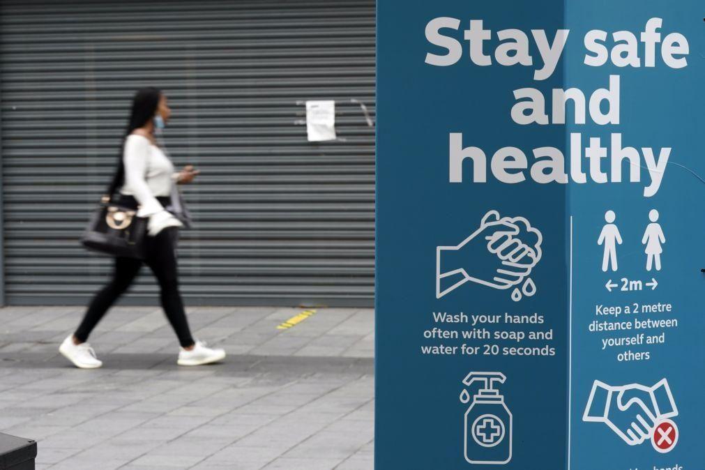 Covid-19: Reino Unido regista seis mortes e 1.182 infeções