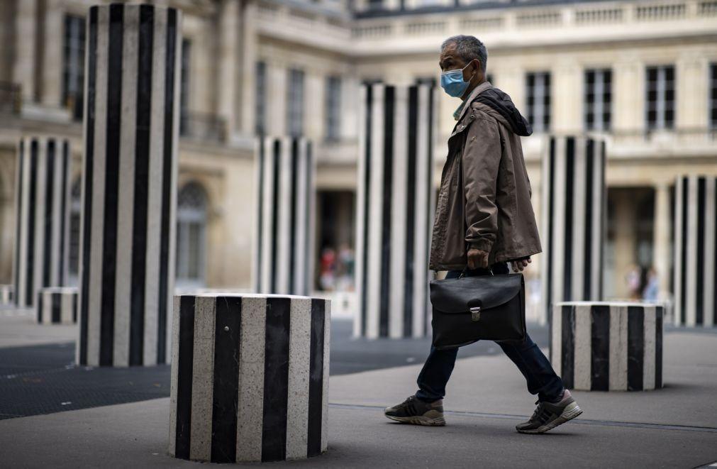 Covid-19: França regista quase 4.800 novos casos nas últimas 24 horas