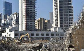 Número de mortos na explosão do porto de Beirute sobe para 182