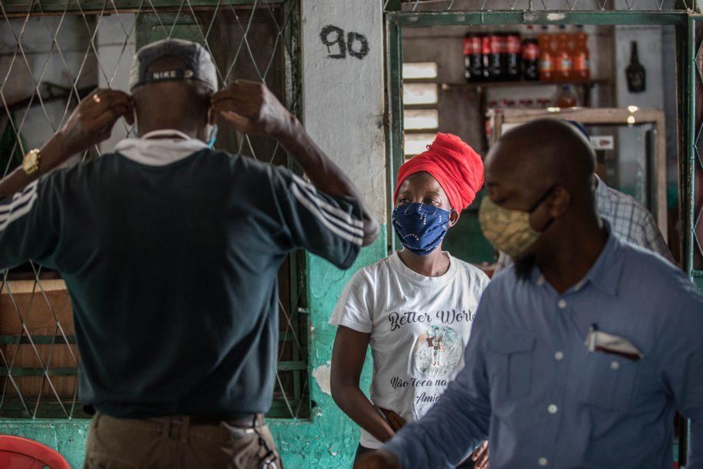 Covid-19: Moçambique regista 91 novos casos e eleva total para 3.395