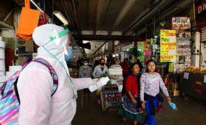 Covid-19: México anuncia mais 264 mortes e quase quatro mil novos infetados