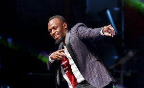 Covid-19: Usain Bolt com teste positivo