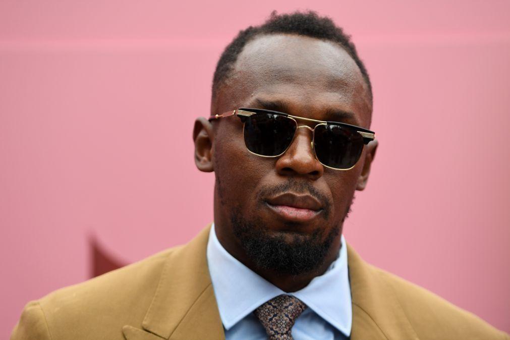 Covid-19: Usain Bolt diz que ainda aguarda resultado do teste e está em isolamento