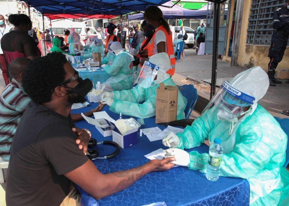 Covid-19: Angola registou 49 novas infeções e mais um óbito