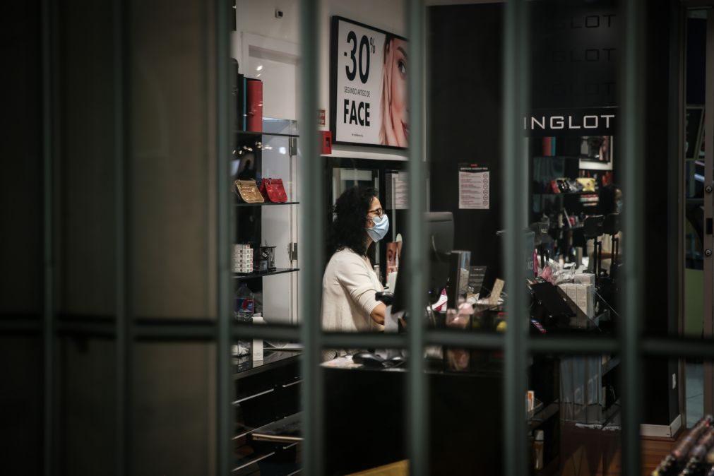 Covid-19: Comerciantes esperançosos com reposição de horários em Lisboa