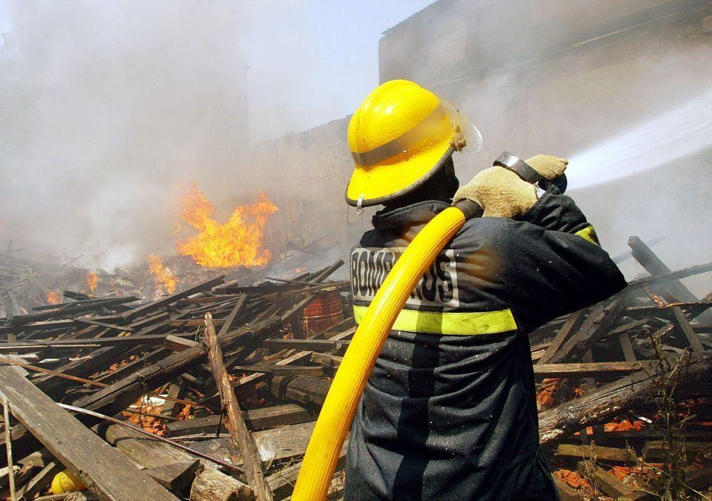 Covid-19: Corpo ativo dos Bombeiros de Arouca tem nove casos e fica reduzido a metade