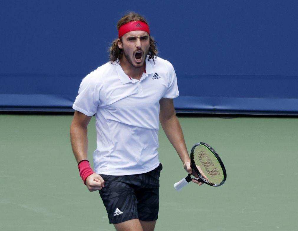 US Open: Stefanos Tsitsipas na segunda ronda após afastar Albert Ramos-Vinolas