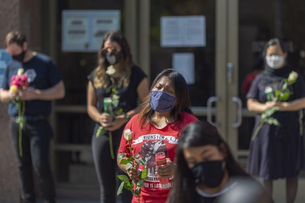 Covid-19: EUA registam 465  mortos e mais de 33 mil casos nas últimas 24 horas