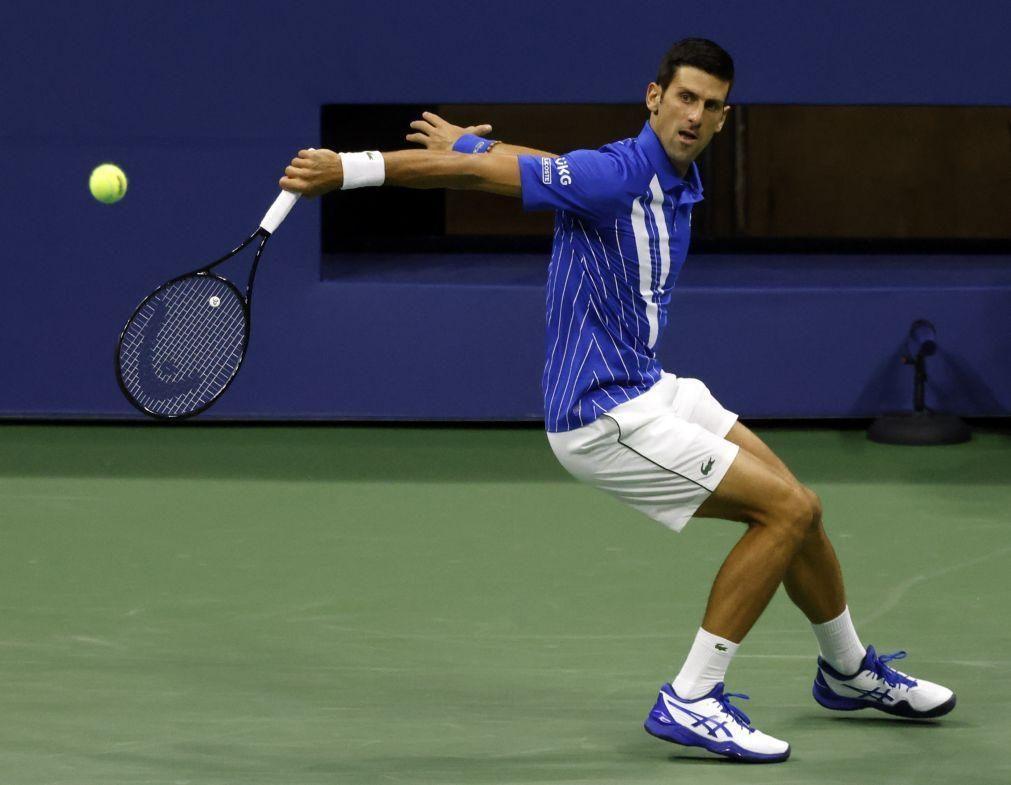 US Open: Djokovic vence Damir Dzumhur e segue para a segunda ronda