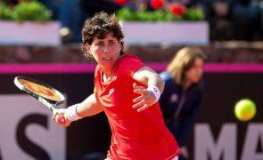 Tenista espanhola Carla Suárez enfrenta o desafio de um cancro