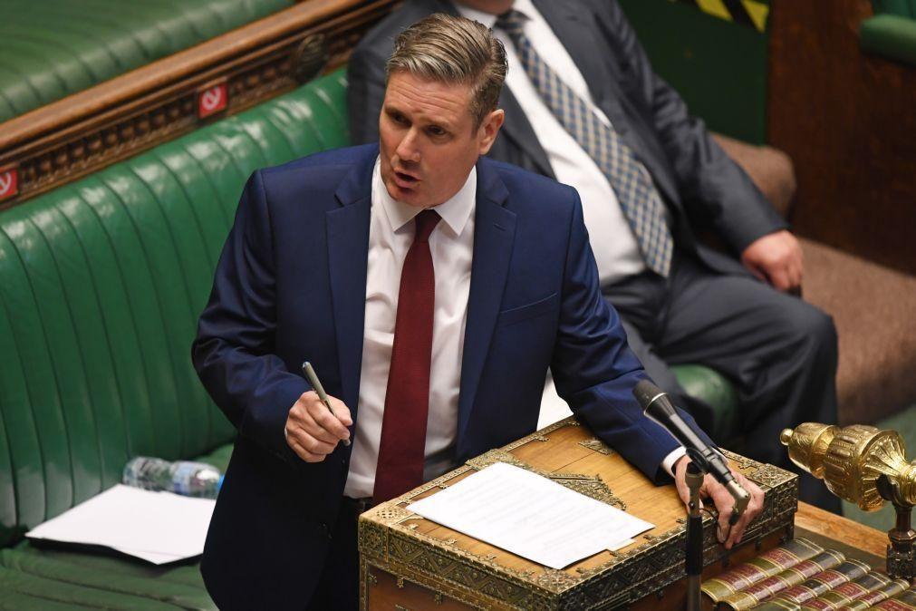 Covid-19: Partido Trabalhista acusa governo britânico de