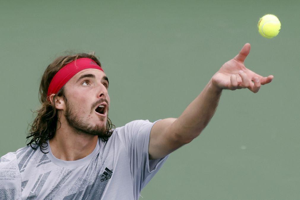 US Open: Stefanos Tsitsipas vence Maxime Cressy e segue para a terceira ronda