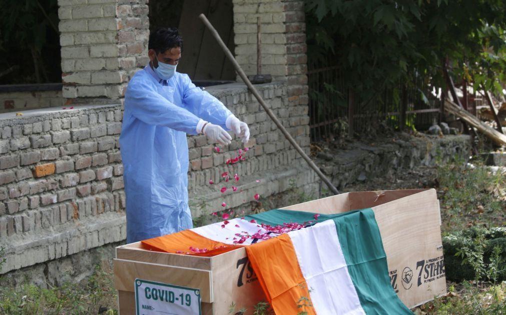 Covid-19: Ásia regista mais de 100 mil mortos desde dezembro