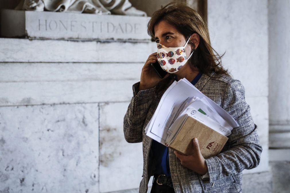 Covid-19: Ministras do Trabalho e da Saúde ouvidas na AR sobre surtos em lares