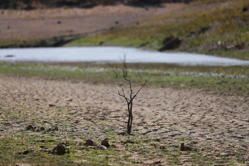 Seca moderada no continente em agosto, pontualmente severa no Baixo Alentejo e Algarve