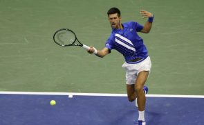 US Open: Djokovic vence Jan-Lennard Struff e segue para a quarta ronda