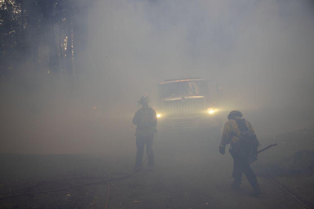 Fogo de artifício de festa para revelar sexo de bebé provocou incêndio florestal na Califórnia