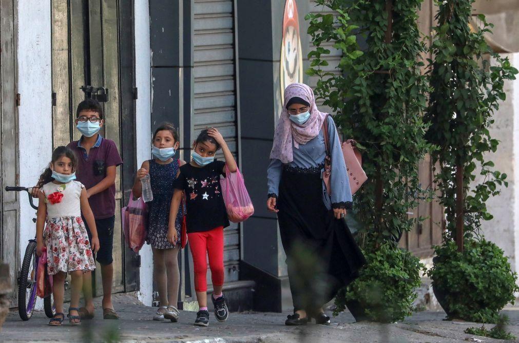 Covid-19: Gaza regista recorde diário de casos pelo terceiro dia consecutivo