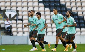 Portugal joga na Suécia com Cristiano Ronaldo em dúvida