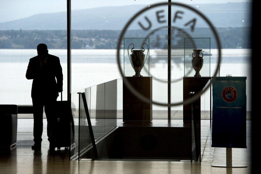 UEFA reembolsa televisões em 575 milhões de euros pela interrupção das competições