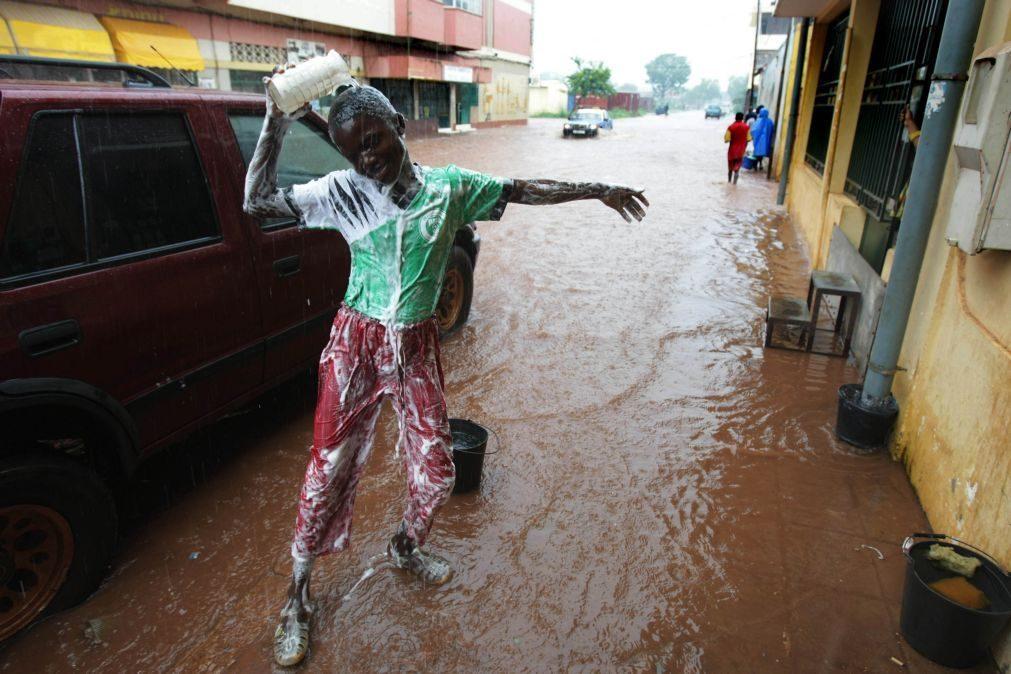 Chuvas provocam estragos um pouco por toda a Guiné-Bissau, Governo pensa lançar campanha