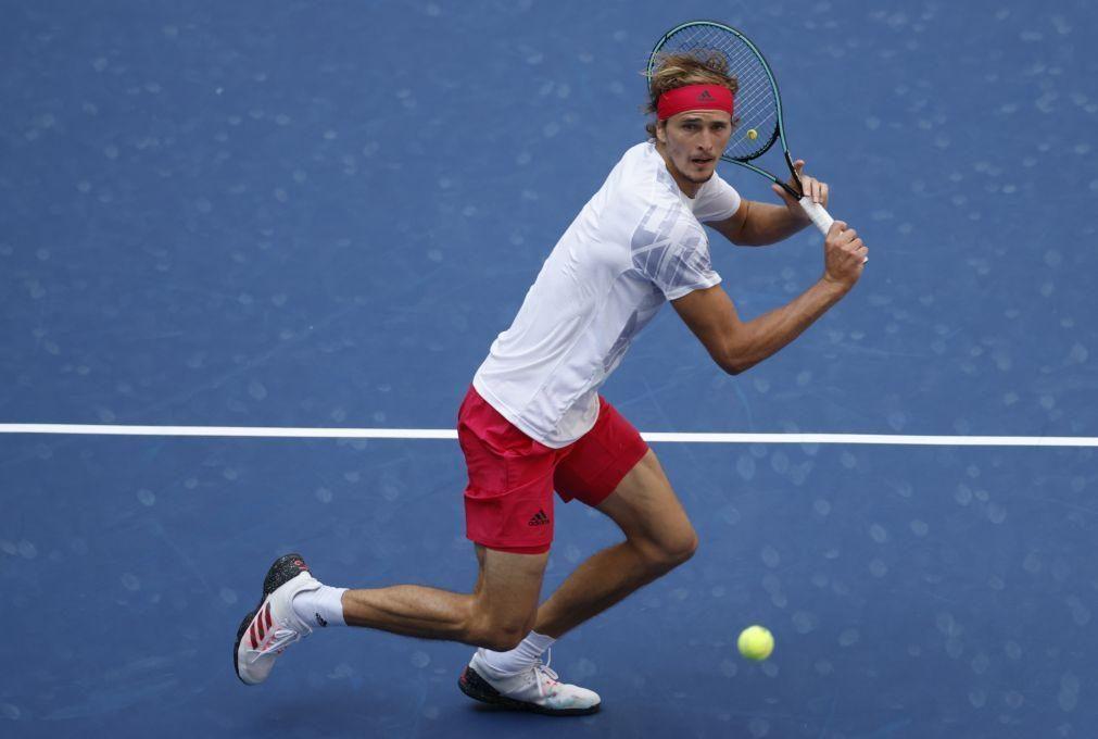 US Open: Zverev apura-se pela primeira vez para as 'meias' em Nova Iorque