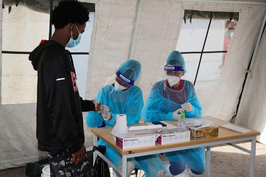 Covid-19: Cabo Verde fixa preço máximo equivalente a 127 euros para testes
