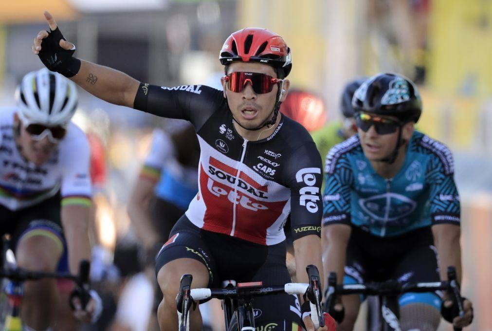 Tour: Caleb Ewan vence 11.ª etapa num 'sprint' renhido