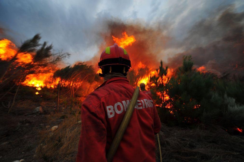 Incêndios: Fogo dominado em Vila Verde após mais de 12 horas de combate