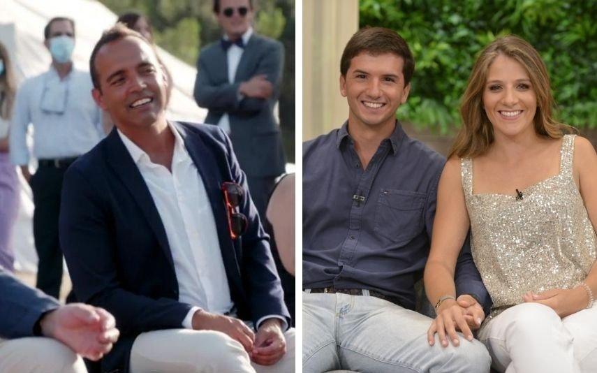 Francisco Mendes orgulhoso da afilhada, que se casou com Lourenço n'O Noivo É Que Sabe, da SIC